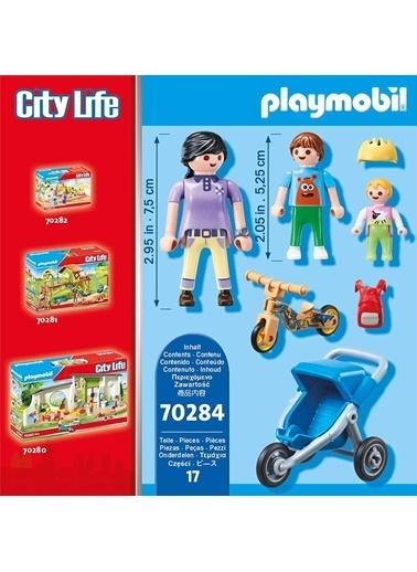 Playmobil Şlaymobil Figures 70284 Mum With Children Renkli